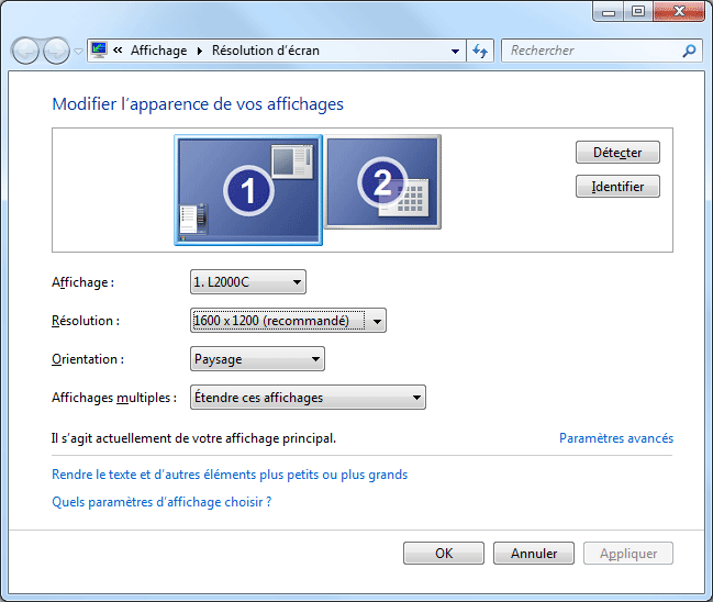 Balayage ecran windows 10